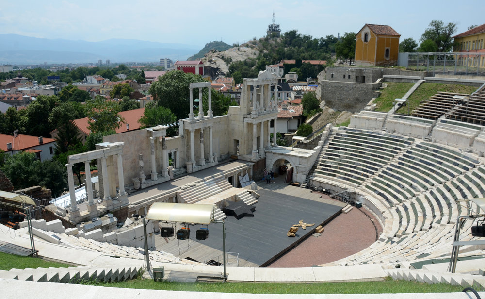 Roman Theatre (1st c.)Plovdiv, Bulgaria