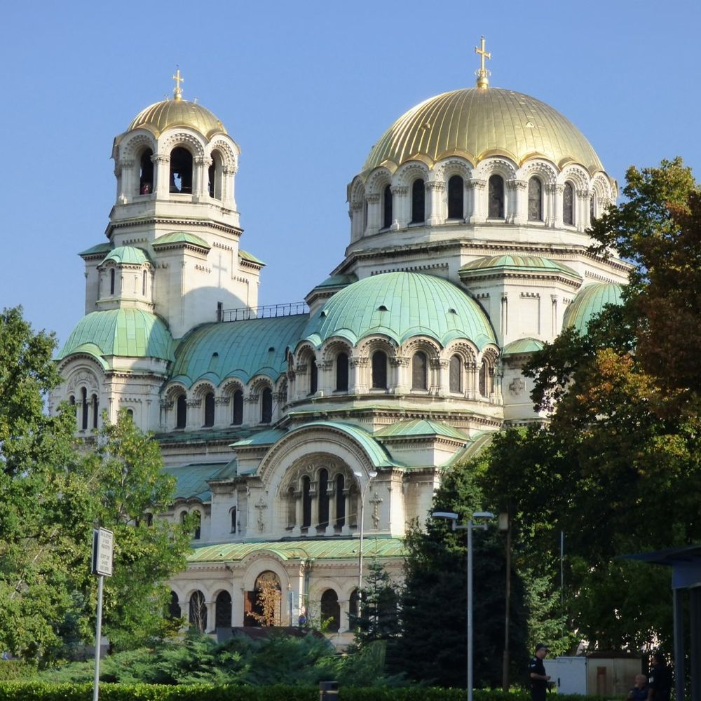 Alexander Nevsky Cathedral (19th - 20th c.) Sofia, Bulgaria