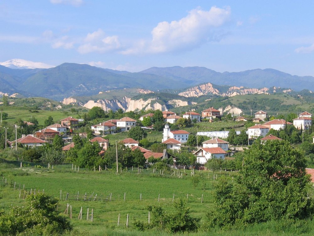 Melnik is a beautiful small town in Bulgaria's Struma Valley & home to an indigenous varietal of the same name.