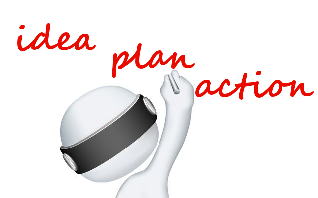 Idea, plan, action - the route map to success
