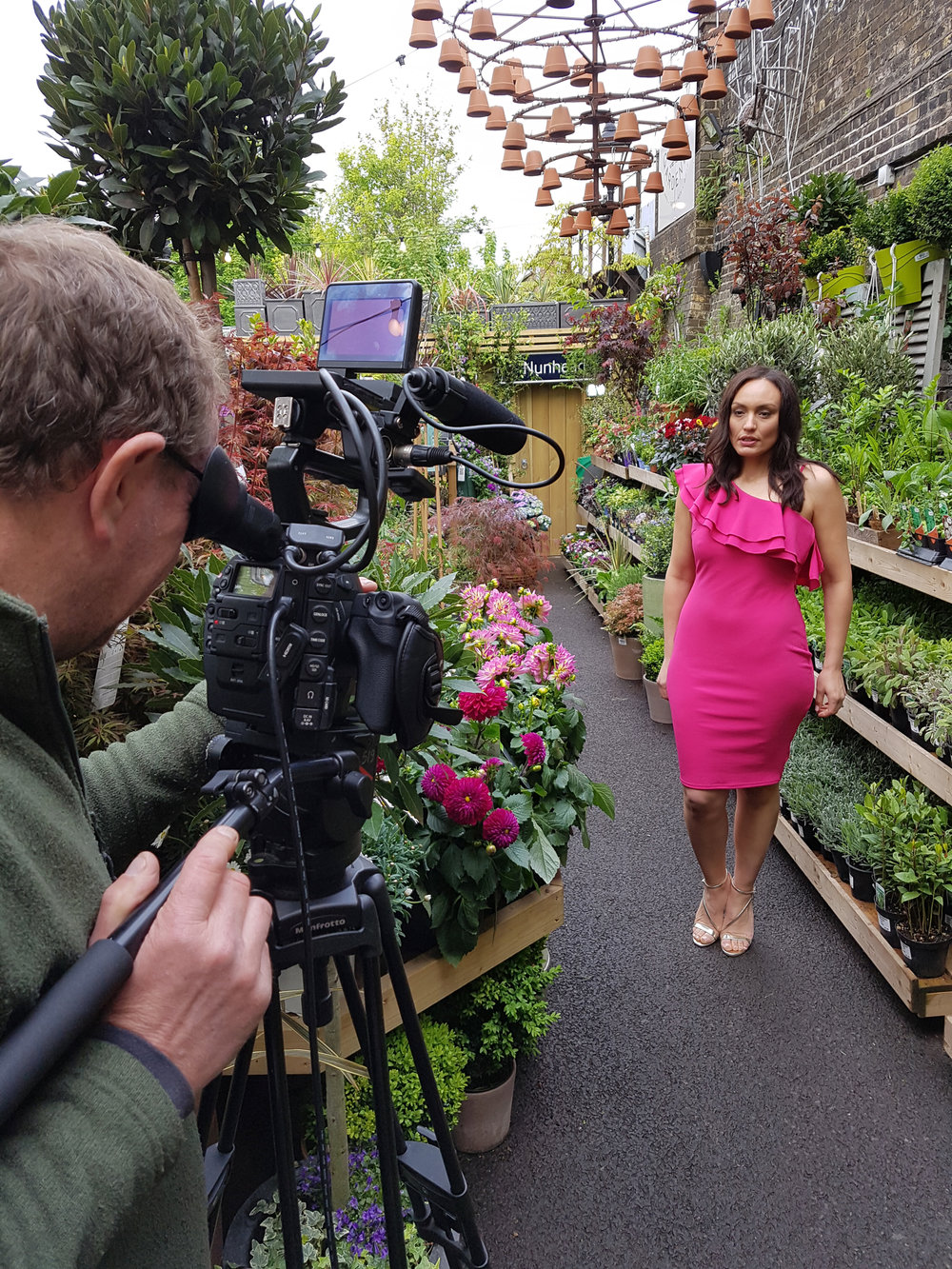 "Tune into ITV at 9:10am on Tuesday 2nd May where you'll see us ""popping in Pink""!  #lorraine  #itv # itvthismorning   #poppinginpink  #dahlias  #gardencentre  #thenunheadgardener  #markheyes   @thenunheadgardener"