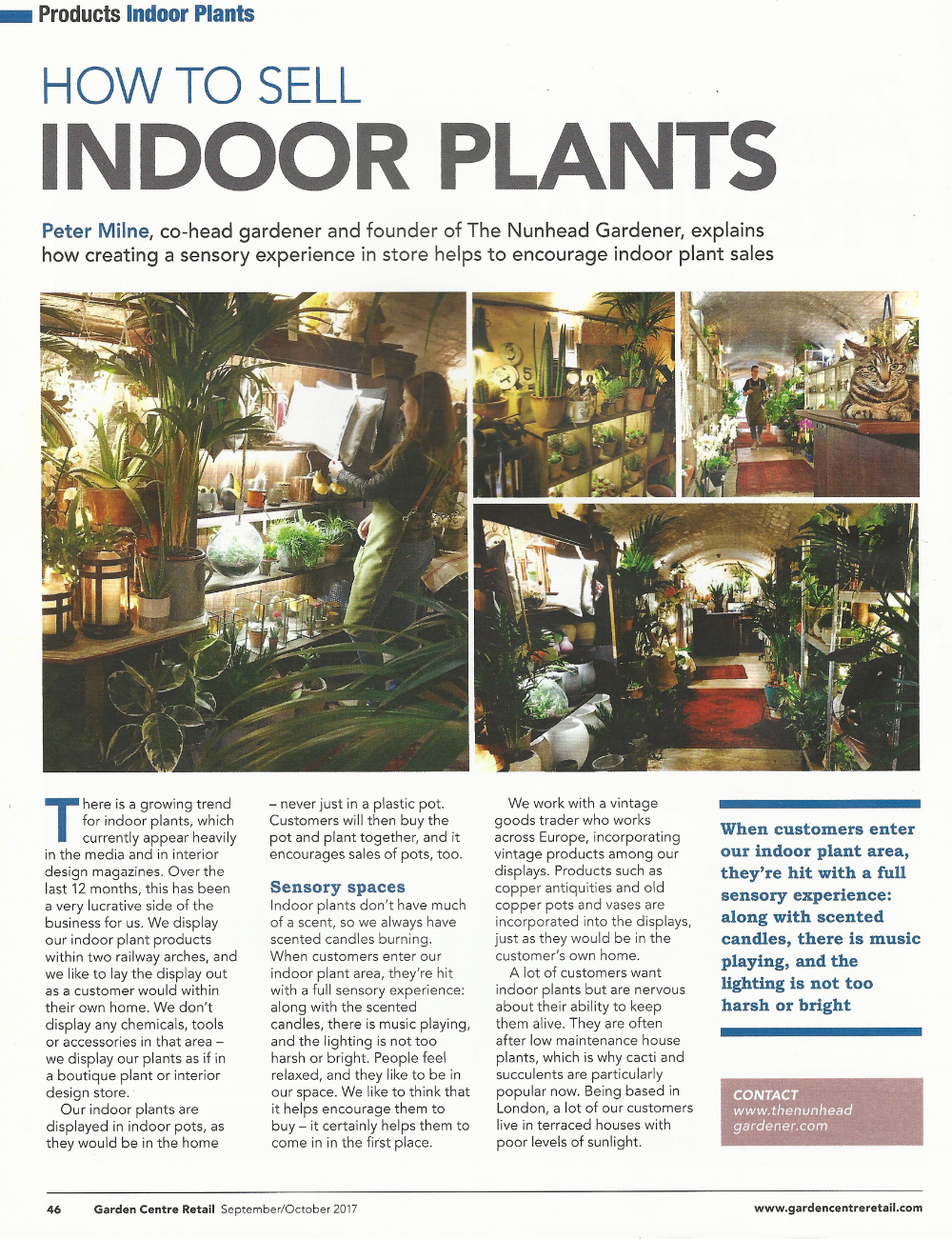 How to Sell Indoor Plants - Garden Centre Retail