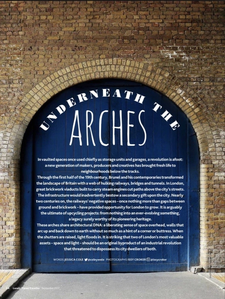 Underneath the Arches - Lonely Planet Guide