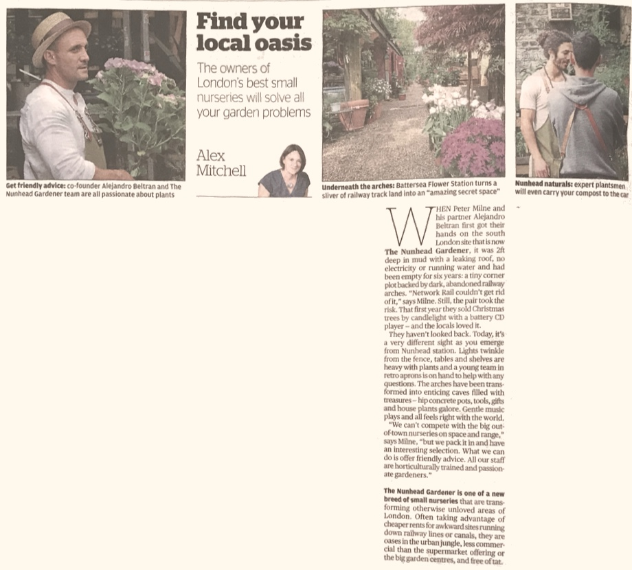 Find Your Local Oasis - Evening Standard