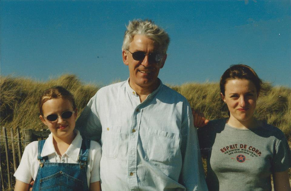 Vicki, Alan, and Charlotte enjoying sunny times at West Wittering Beach.