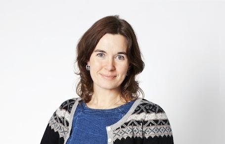 "Litteraturformidlar Janne Karin Støylen held foredrag i Utstillingssalen""To strekar under høgtlesing"""