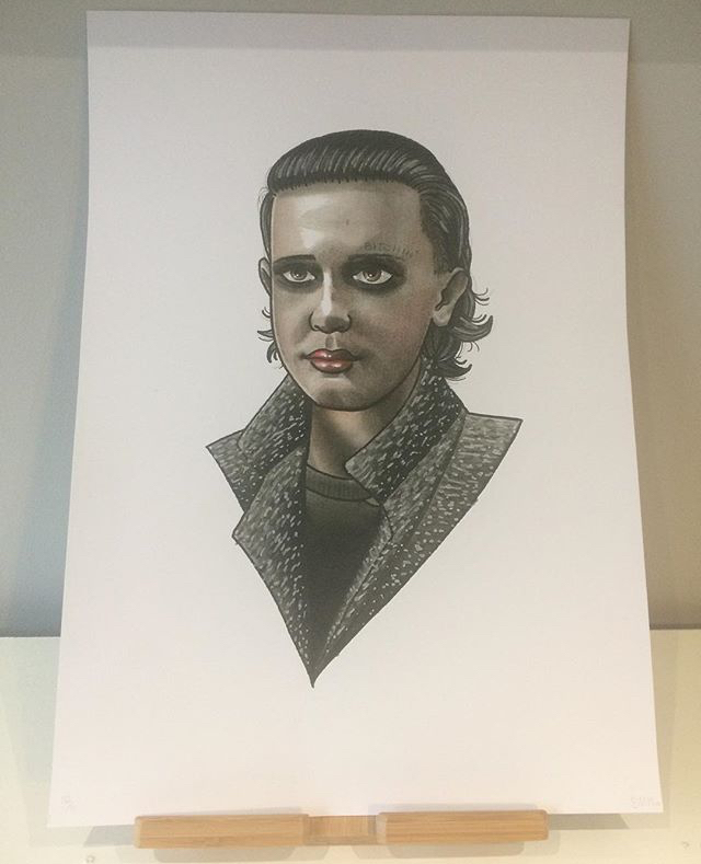 Bitchin 011 - These prints from Sikes are selling fast! If you've got a Stranger Things 2 fan in your life, stop by and grab one of these awesome prints, just in time for Christmas.