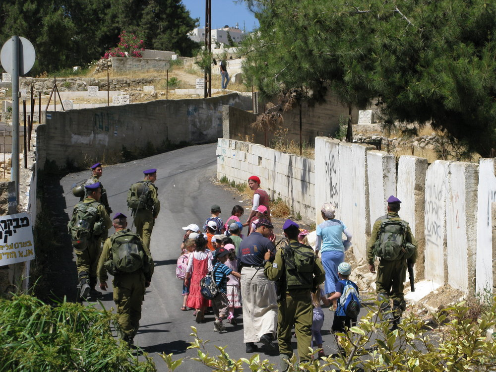 Jewish settlres' children in Hebron.jpg