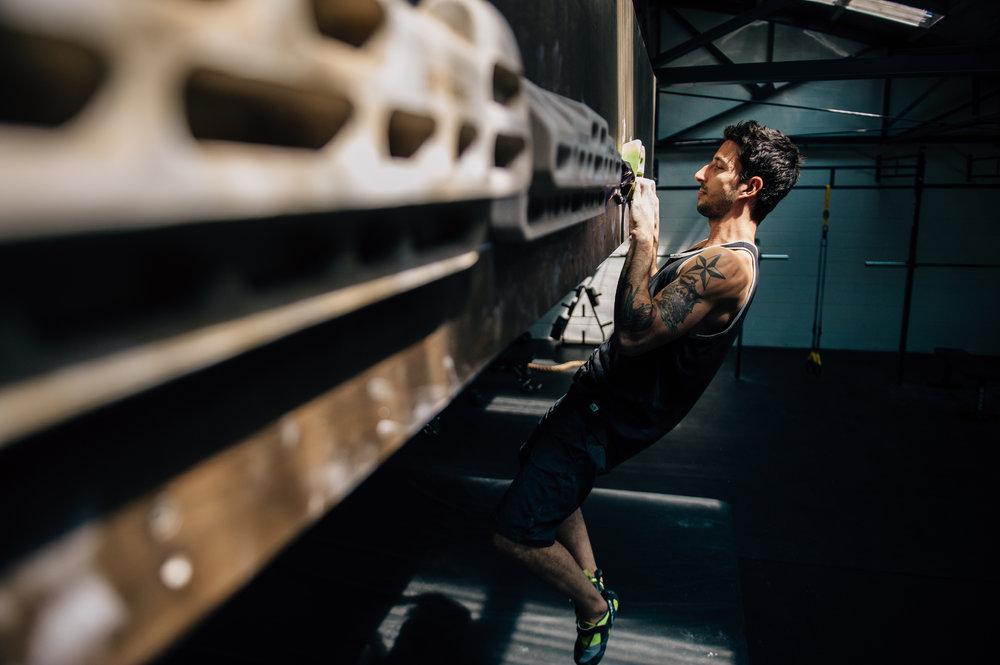 Terra Firma Bouldering - Facilities - Hang Boards
