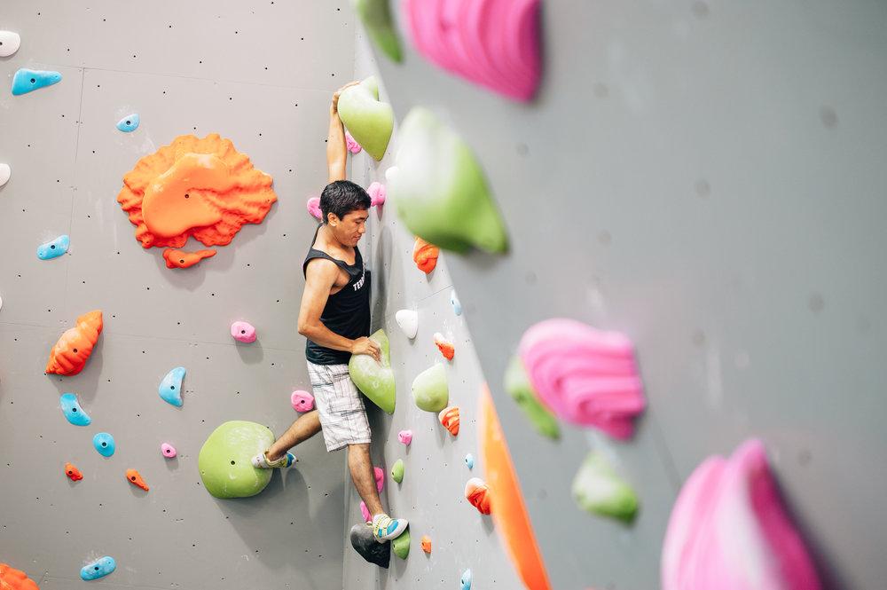 Terra Firma Bouldering - Facilities - Arete