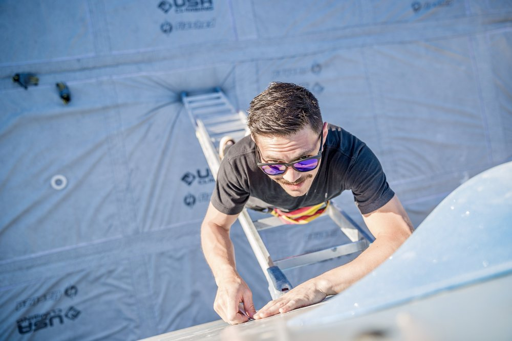Jeremy Ho Terra Firma Bouldering Route Setting Clinic