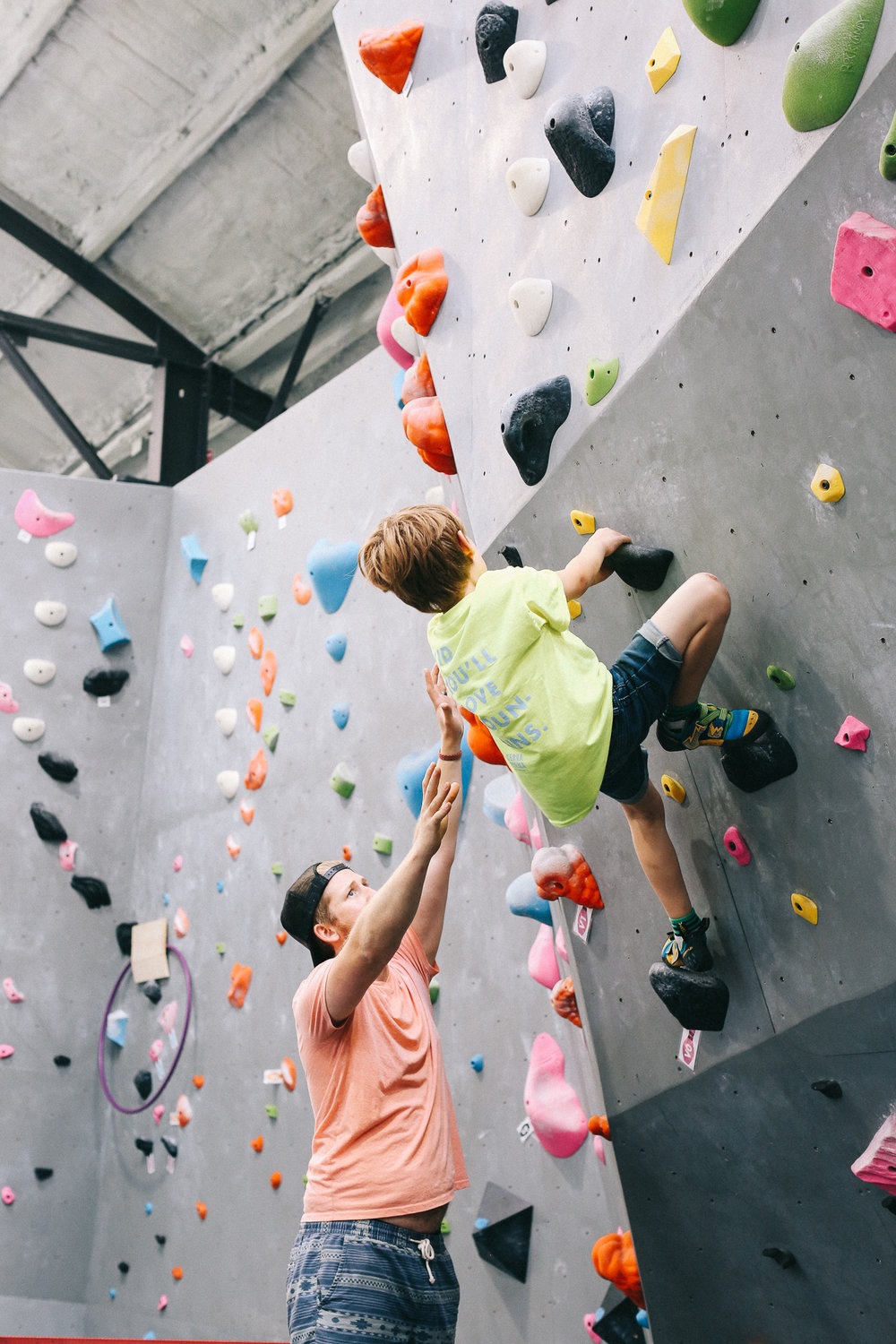 Terra Firma Bouldering | Youth Rec Teams | 9-11 Year Olds