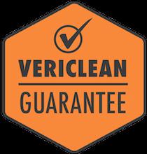 Vericlean guarantee image
