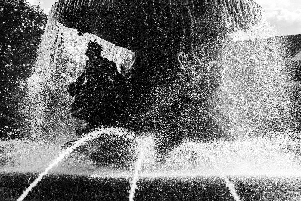 Stürmische Wogen in Albertplatz