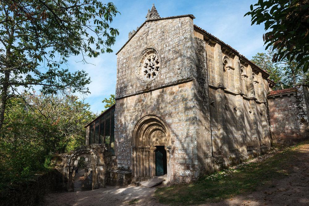 Romanesque monastery of Santa Cristina de Ribas de Sil