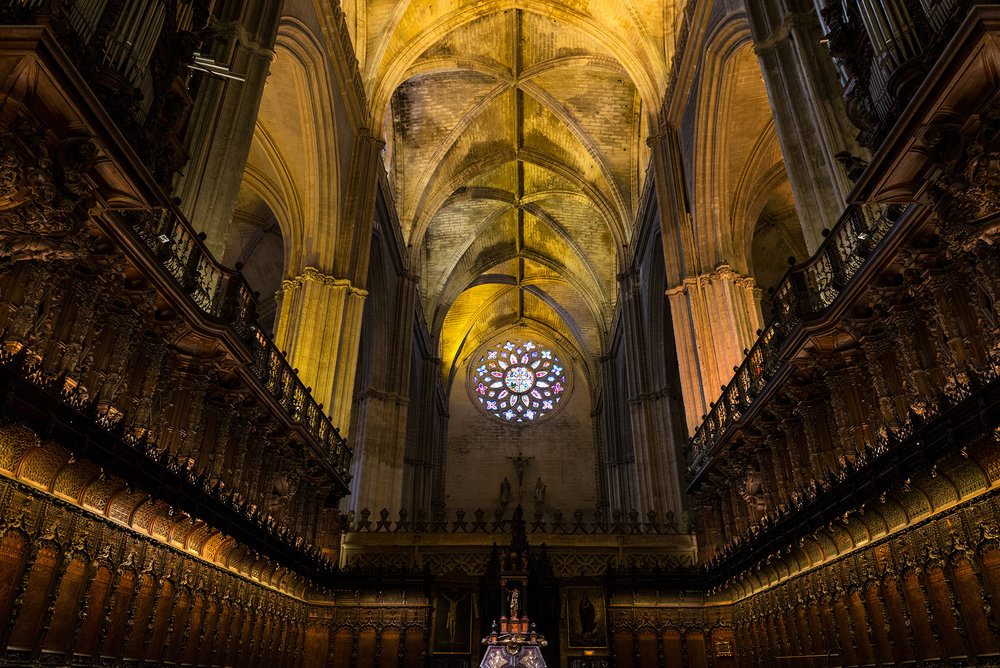 Inside Seville's Cathedral
