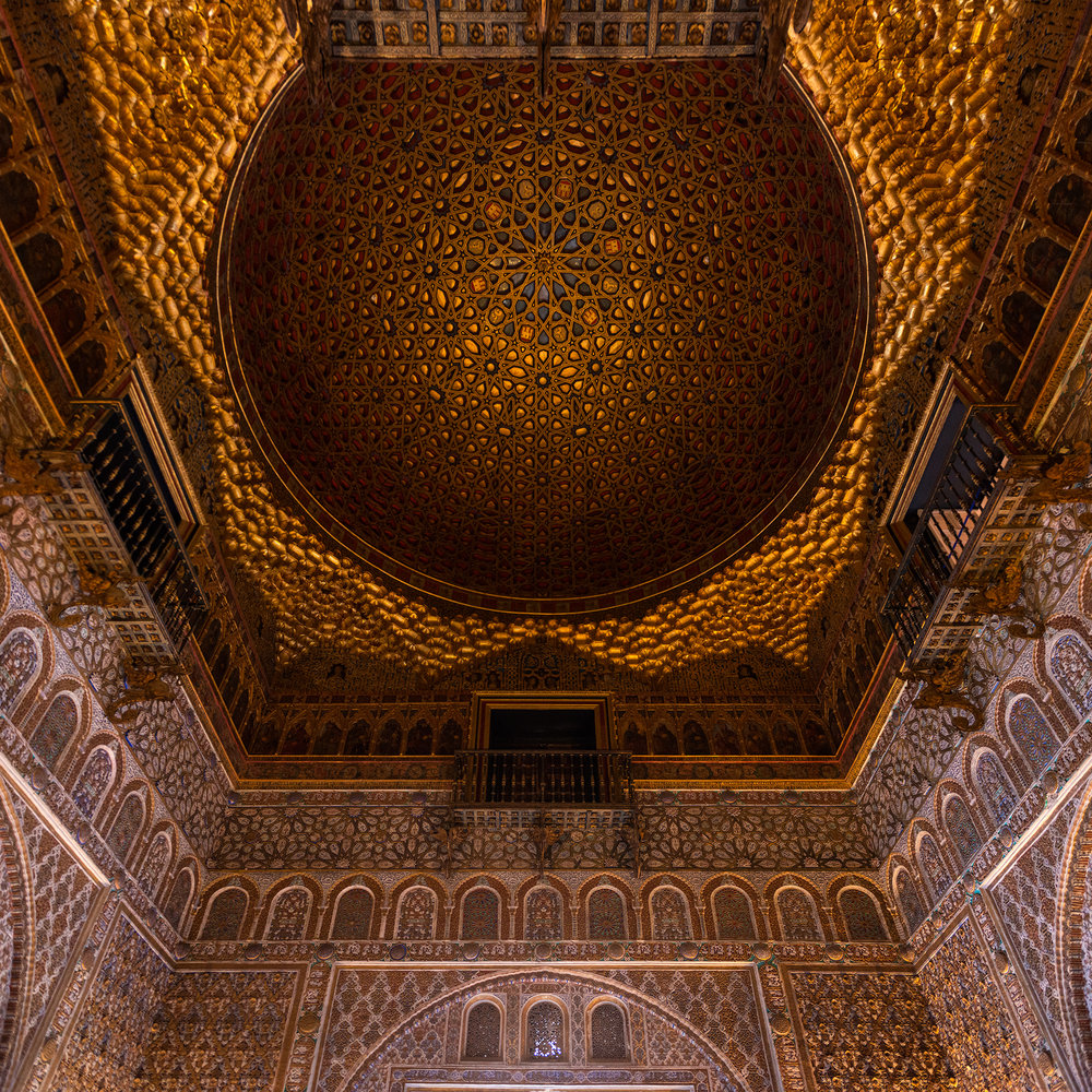 Arabic architecture in the Alcázar