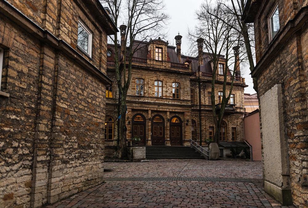 Estonian Academy of Sciences (Ungern-Sternberg palace on Toompea)
