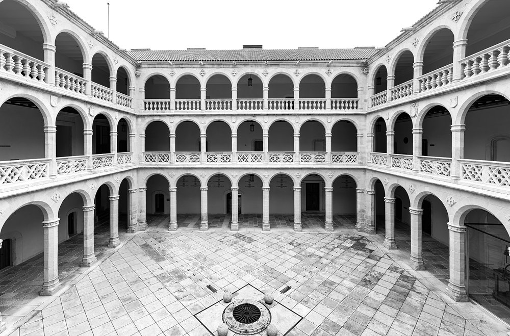 Palacio de Santa Cruz of the University of Valladolid