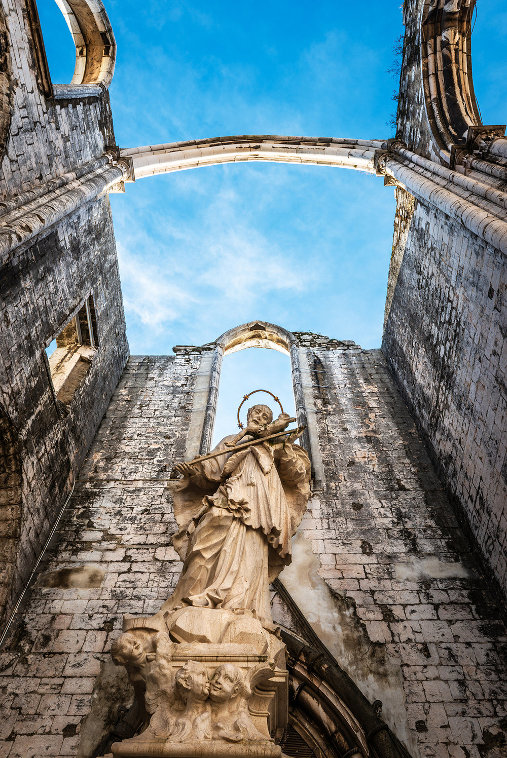 Ruins of the Convent of Our Lady of Mount Carmo