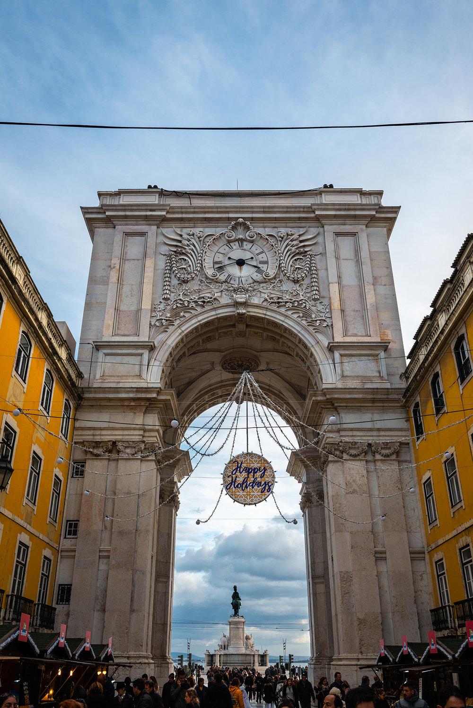 Rua Augusta Triumphal Arch