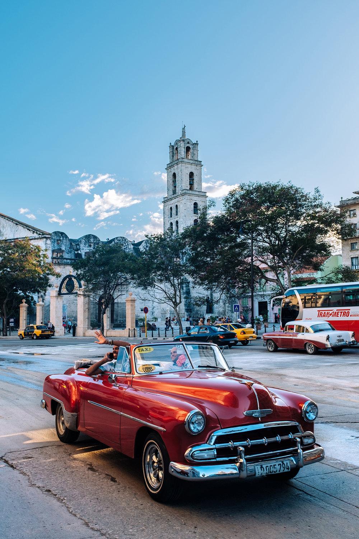 Plaza de San Francisco square in Old Havana