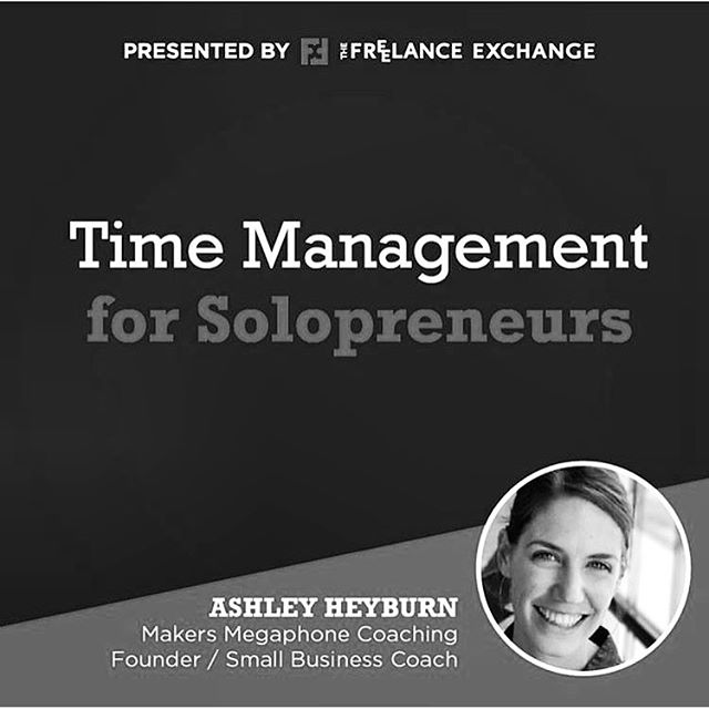 Hey hey freelancers & solopreneurs, do you ever feel like there aren't enough hours in the day to get everything done? Well you are not alone! Join me this Friday with the @fxofkc where I will be giving an action oriented talk sharing practical time management & productivity strategies for busy #solopreneurs like you! Have lunch, meet some folks, and learn how to find greater fulfillment and focus in your work. Registration link @fxofkc