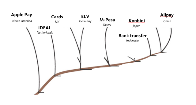 Payment solution evolution