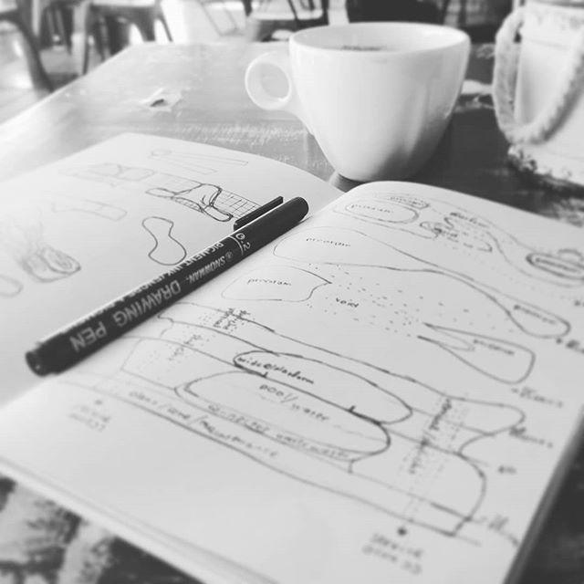 brainstorming sessions  #ideabarstudio #creativestudio #architecturestudio #sketchbookpages #coffeemoment