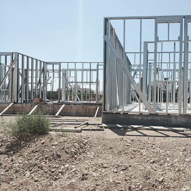 Construction site details  #ideabarstudio #architecturestudio #architecture #constructionsite #steelconstruction #designdetails