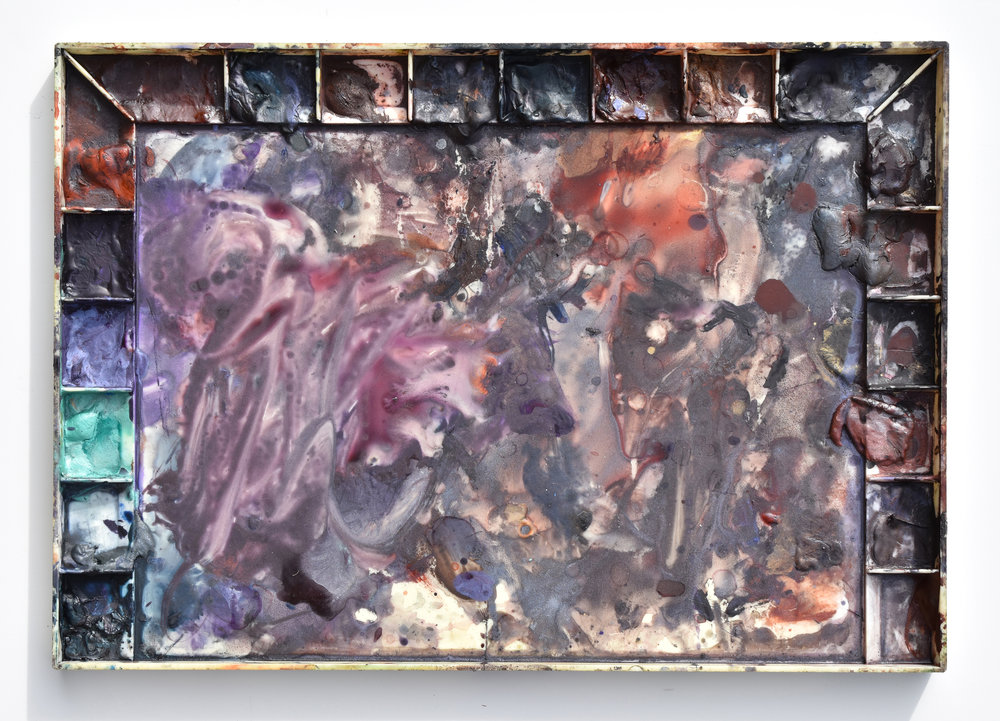 Ken Karlic's palette of DANIEL SMITH PrimaTek Watercolors