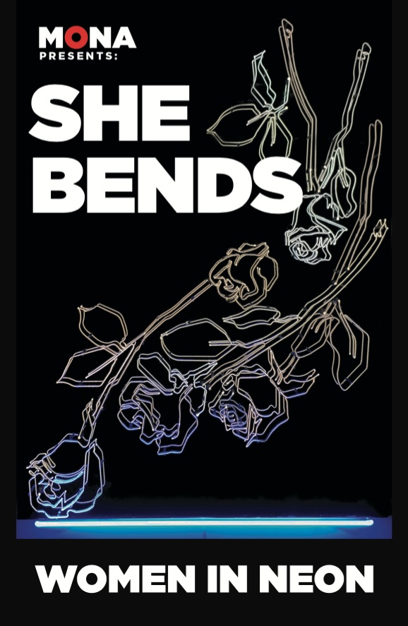 She bends