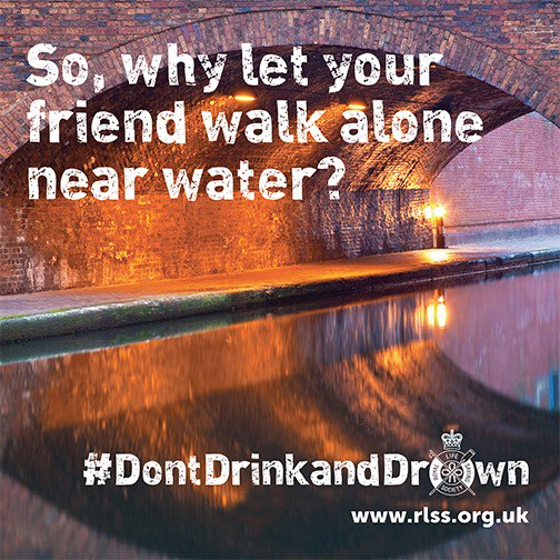 Don't drink and drown