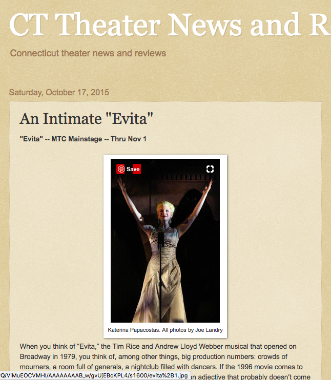 CT Theater News and Reviews