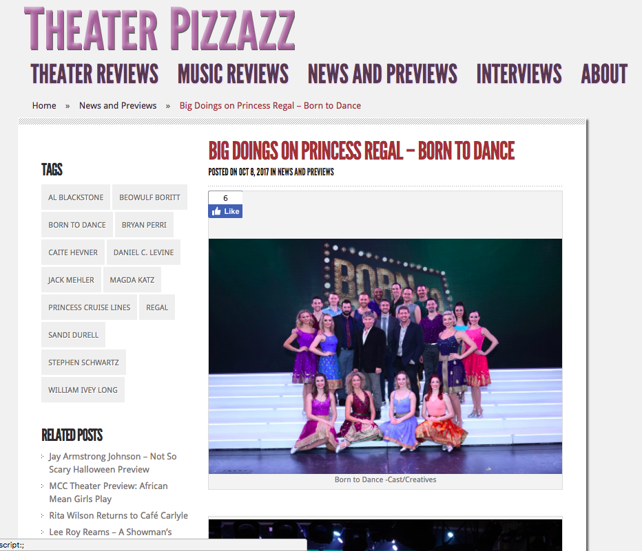 Theater Pizzazz