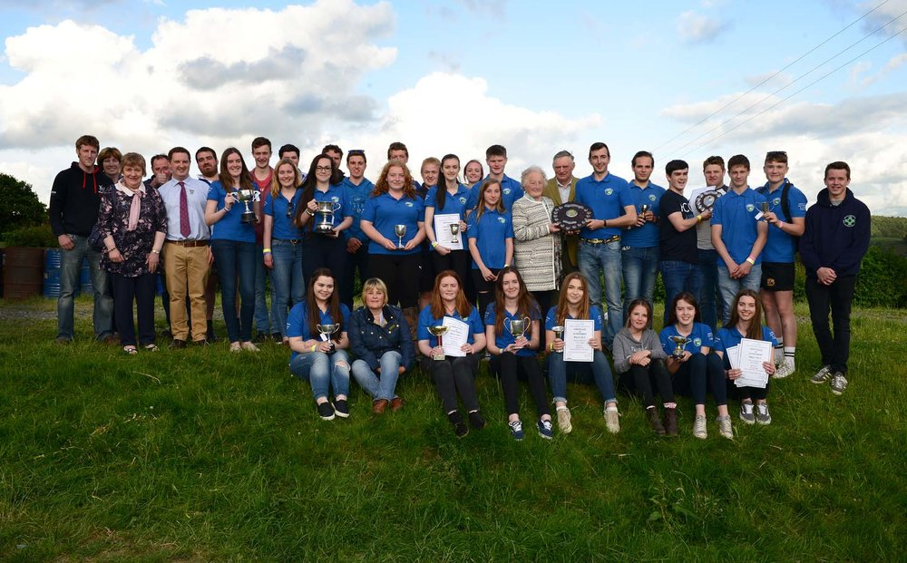 Sennybridge YFC - 2017 Rally winners.