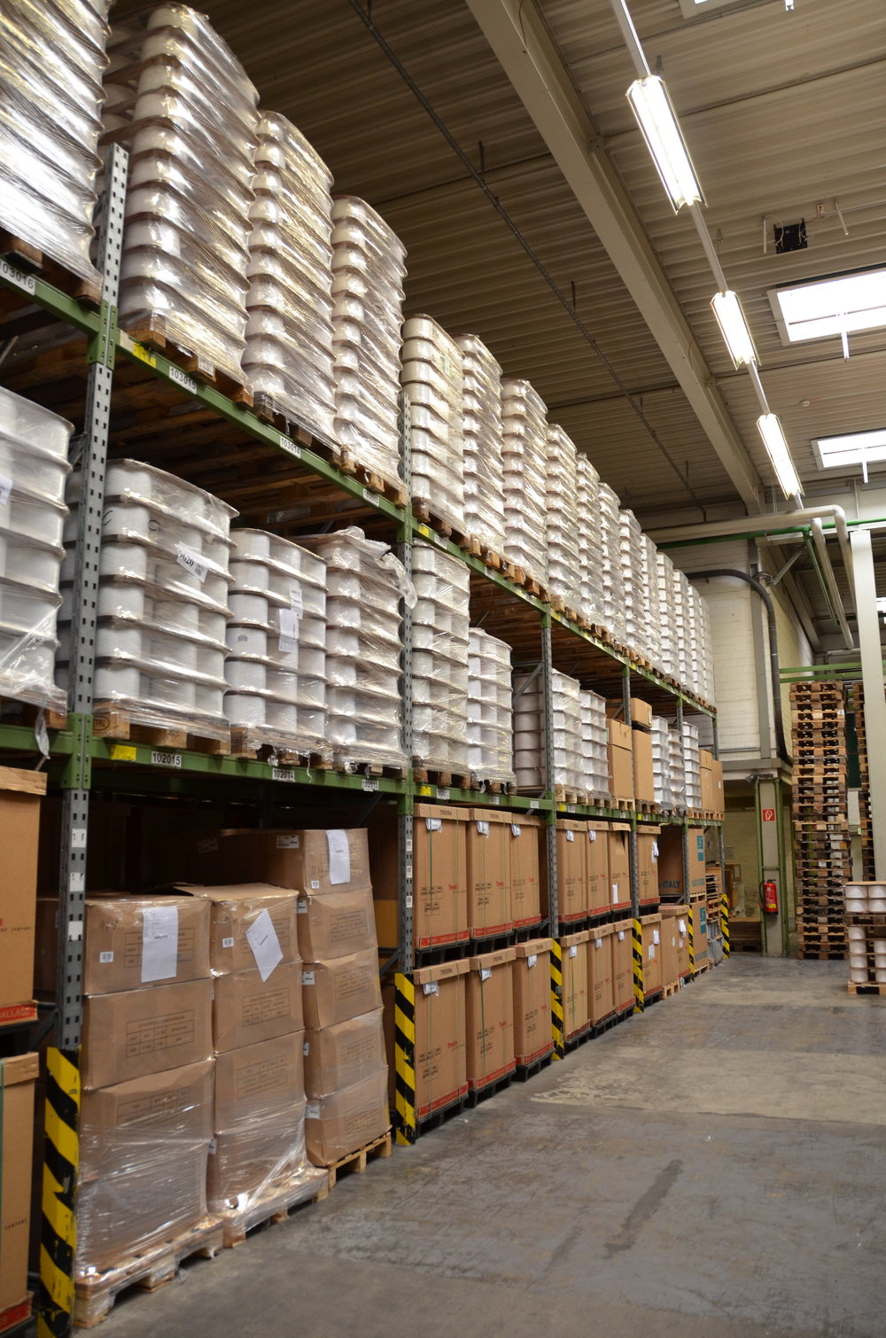 LOOMDATA ERP Warehouse for Yarn, Raw material, goods