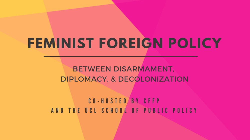 Marissa Conway Feminist Foreign Policy Graphic Design Branding Website