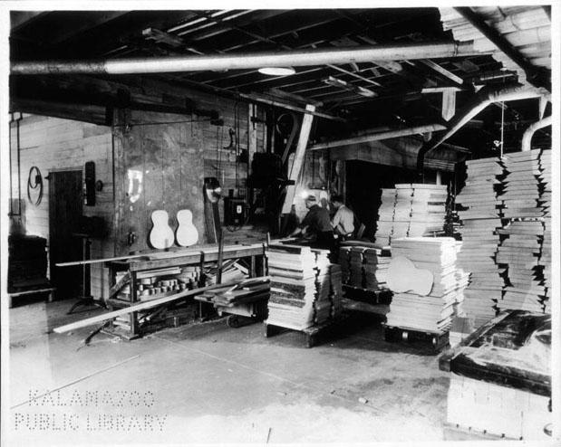 Raw Materials Area - 1936