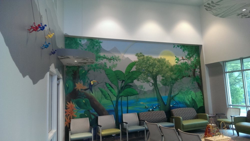Waiting Room at Jeffers Artman and Mann Pediatricians. Holly Springs