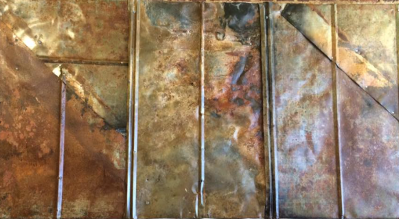 Metal Panel #1      by Sven Johnson