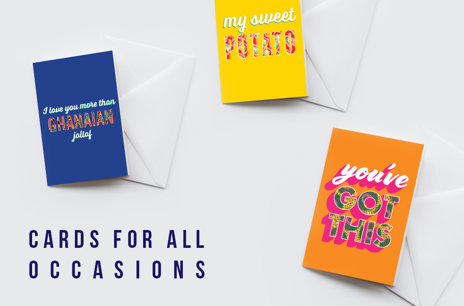 african greetings cards