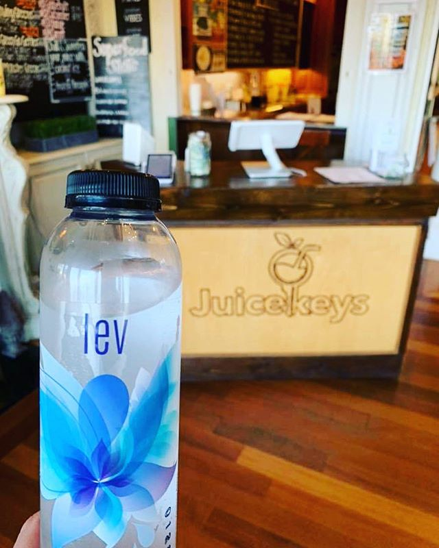 Grab a bottle of LEV to go @juicekeys on Falls of the Neuse road! #organic #levlife #levridgebeverage #madeinraleigh #juicekeysraleigh #floweressences