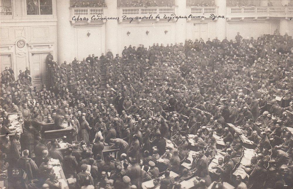 Soviet Assembly- 1917