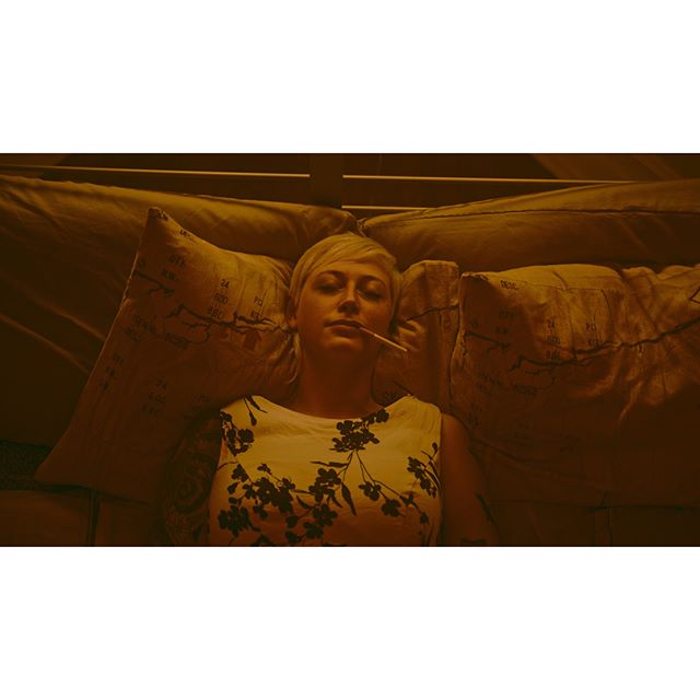 "Following ""Alice"" down the rabbit hole.  Frames from the soon coming video for the song ""The Latter"" by @dentistband.  Debuts in October!  Talent - @owldoom  Director - @danayurcisin Asst. Director - @biffswenson  DOP - @papalcure_ Art Direct/LD -  @christopheryork  #cinematography #setlife #productionlife #production #16x9club #16x9 #r3d #ursamini #football #vsco #vscocam #smallhd #videoproduction #hologramvisuals #ursamini46k #davinciresolve #vscogood"