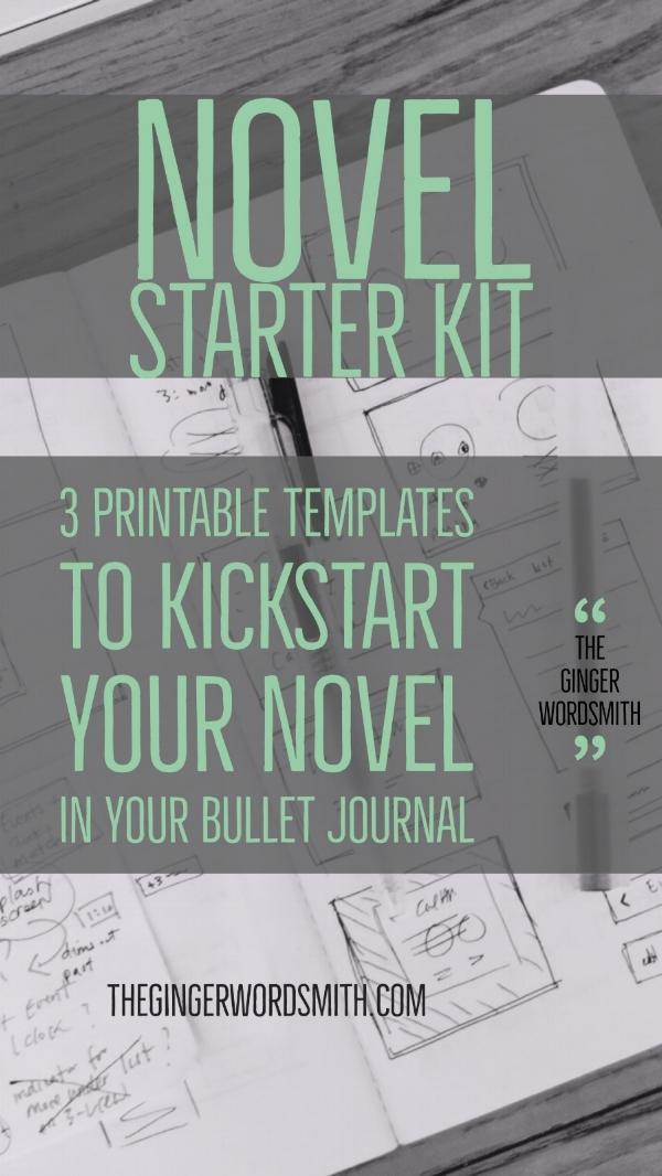 WritersBulletJournalNovelStarterKit