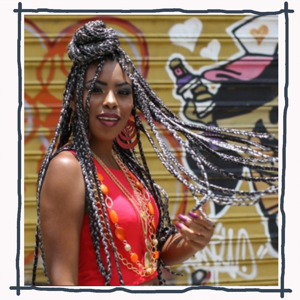 One of Brazil's Funkeiras, the name for female MCs of Funk Carioca music  Image:  Hoje Emdia