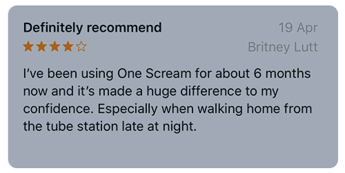 OneScream_definitely_recommend.png