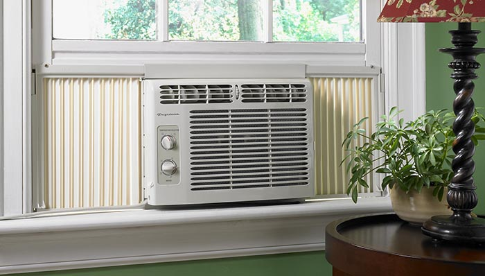 Screens and Air Conditioners - We do not provide screens though you will find many screens already installed in the house which are part of the original window system of the house. If screens are missing we suggest using sliding screens which can be easily purchased and will expand to fit any window. If you do not have Central Air-Conditioning then we will provide you with window units – 3 per house. You may install them in the windows that you choose.  Please make sure that your window unit is installed correctly and draining properly and not into the window well. If you need help, please ask.
