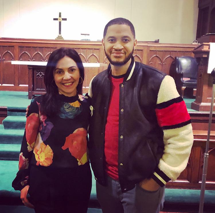 P.A.X.A. President, Tania Haigh, with Suburban Unity Alliance Founder, Anthony Clark